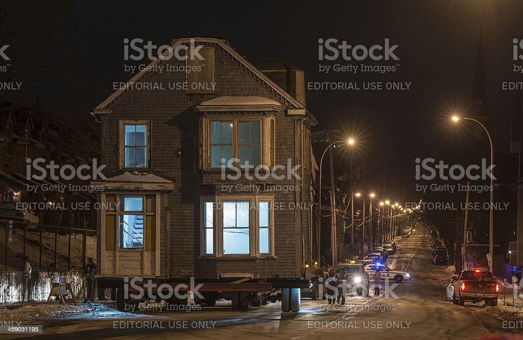 Morris House on Brunswick Street royalty-free stock photo