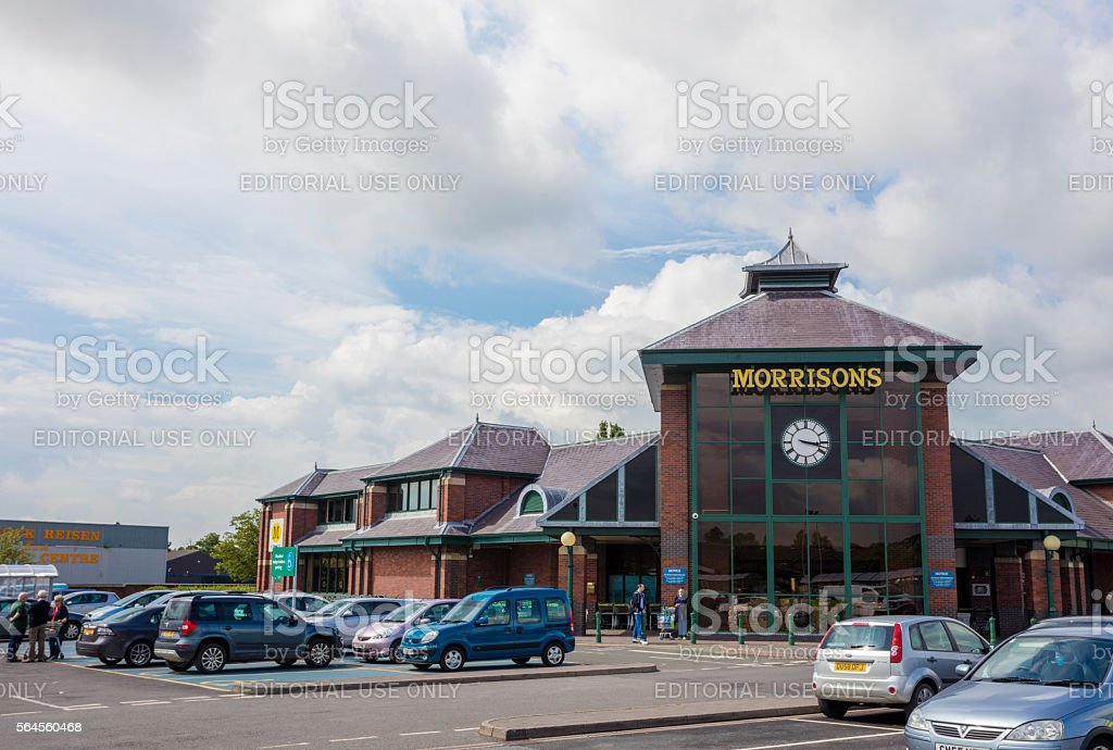 Morrisons stock photo