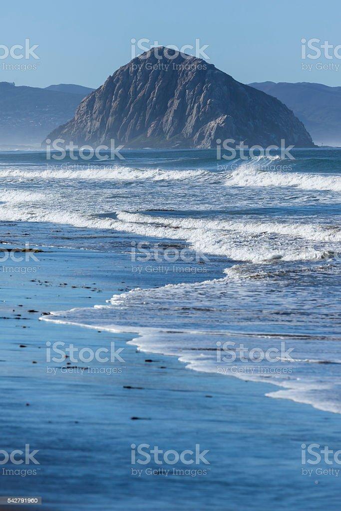 Morro Bay at coast Highway 1, Big Sur, California stock photo