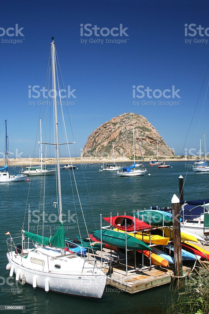 Morro Bay, California stock photo