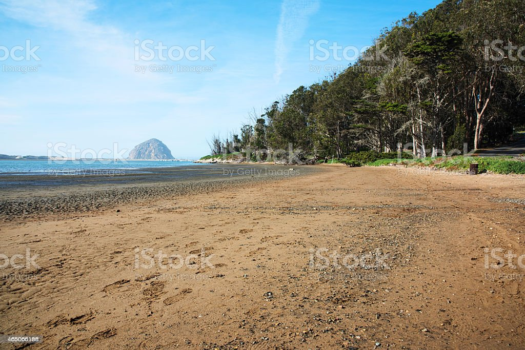Morro Bay California stock photo