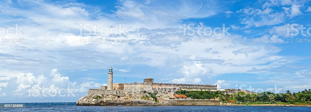 Morro Castle Havana Cuba stock photo