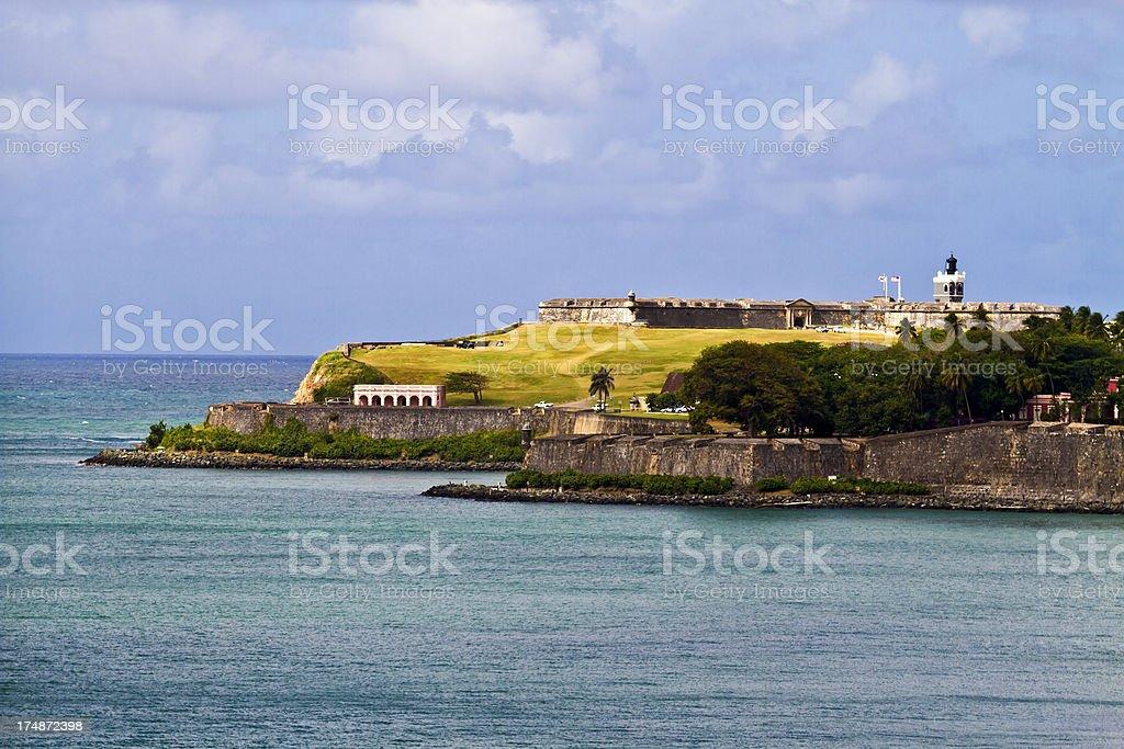 Morro Castle (Old San Juan) stock photo