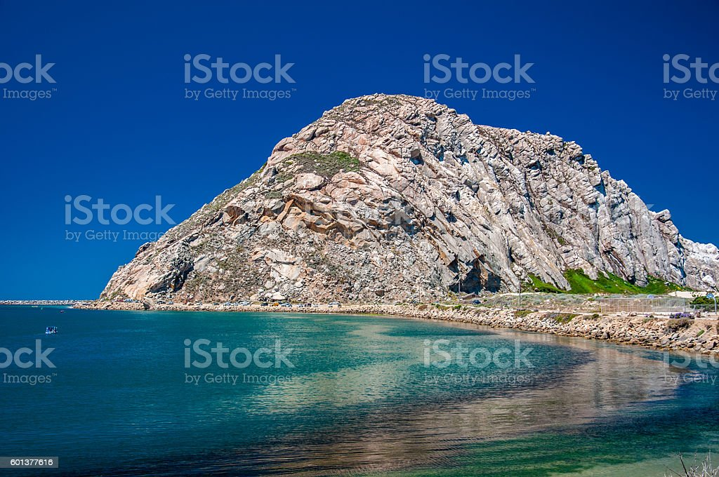 Morro Rock stock photo