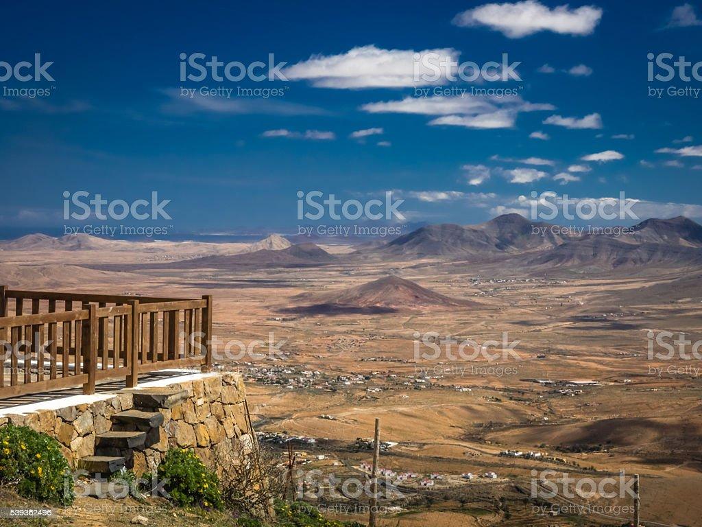 Morro Velosa viewpoint stock photo