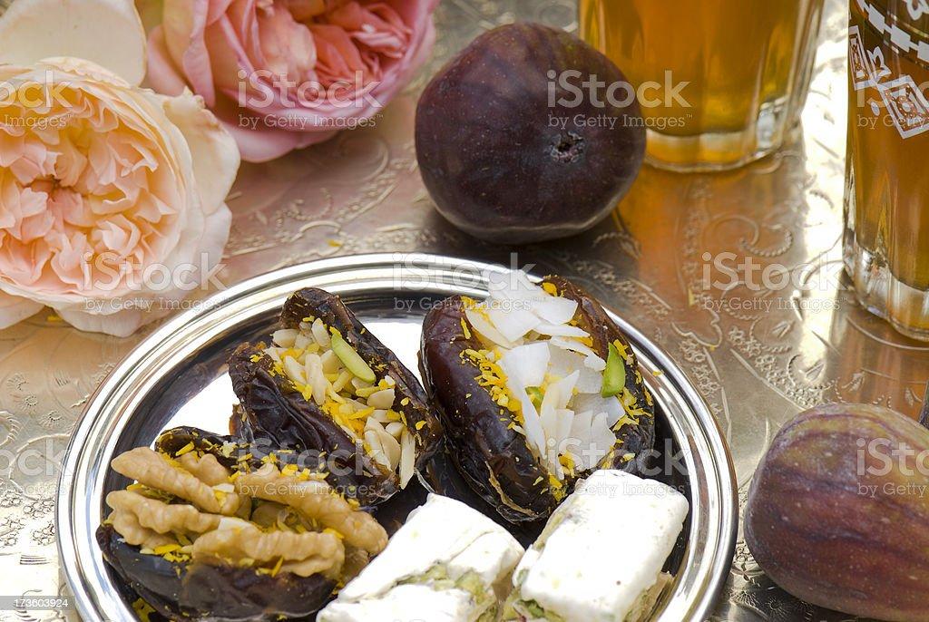 Morrocan Tea royalty-free stock photo