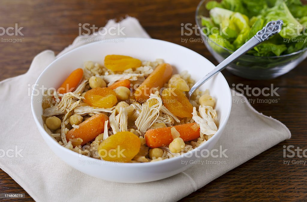 Morroccan Chicken Stew royalty-free stock photo