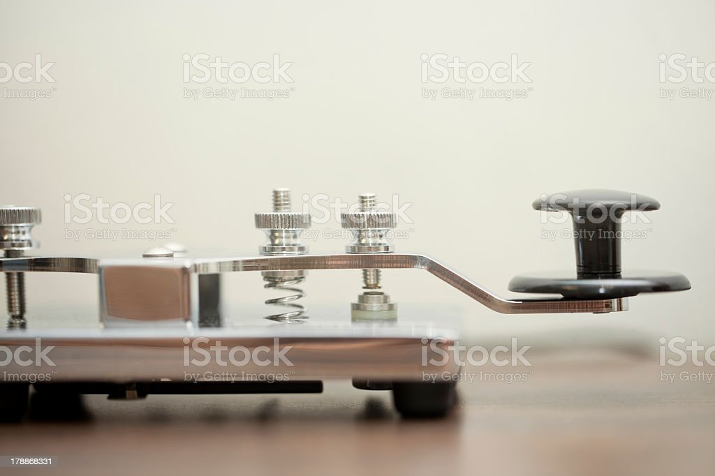 Morse Communication stock photo