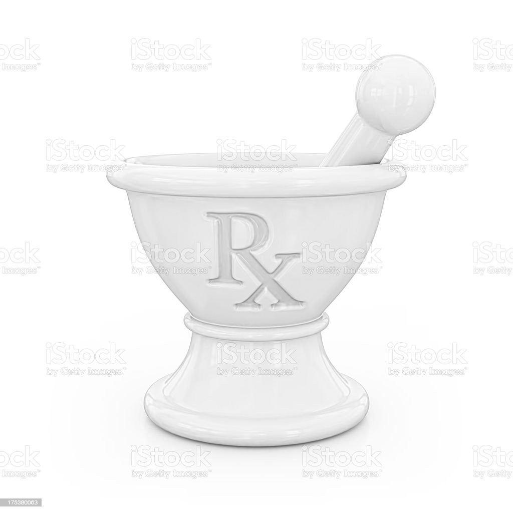 mortar and pastle royalty-free stock photo