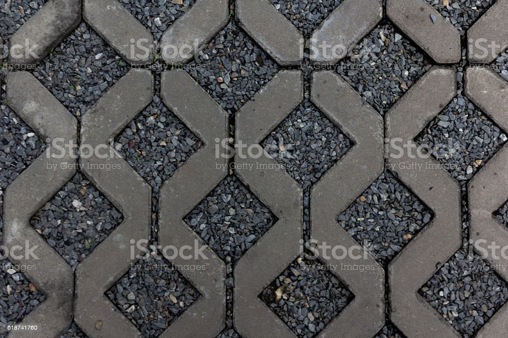 mortar and rock ground texture stock photo