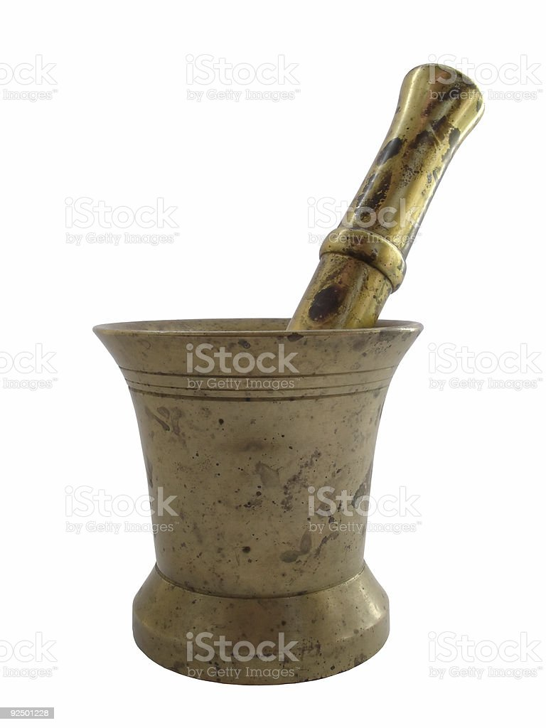 Mortar stock photo