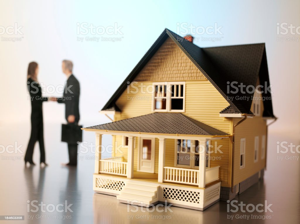 Mortgage Agreement stock photo