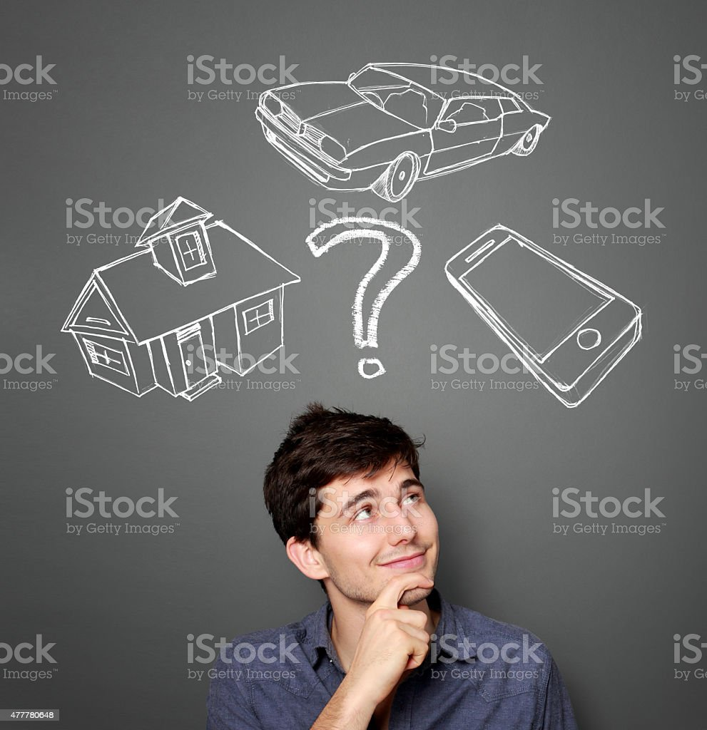 Mortgage and credit concept stock photo