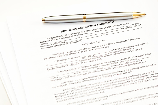 Mortgage Assumption Agreement Pictures Images And Stock Photos Istock