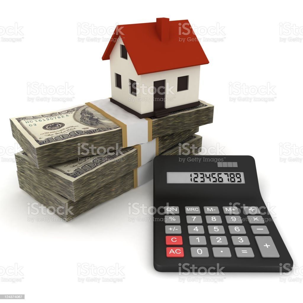 Mortgage Calculator royalty-free stock photo