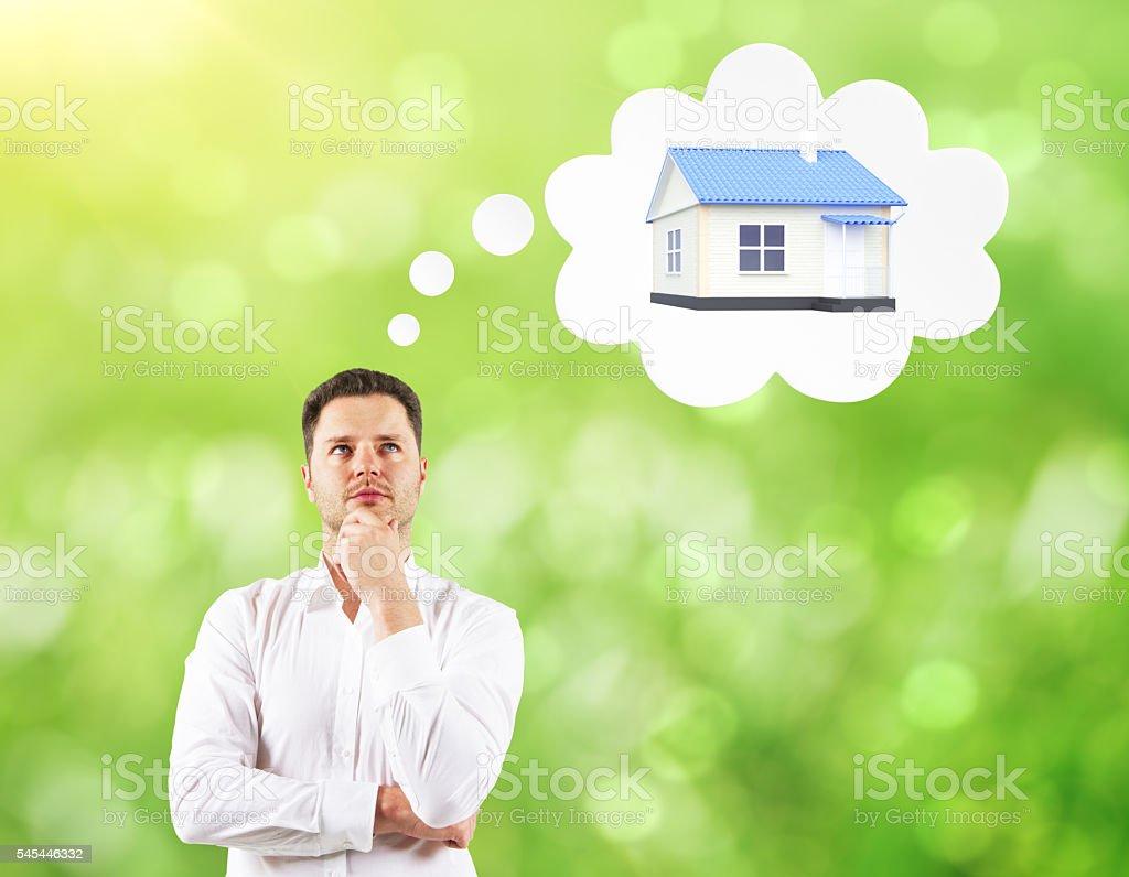 Mortgage concept stock photo