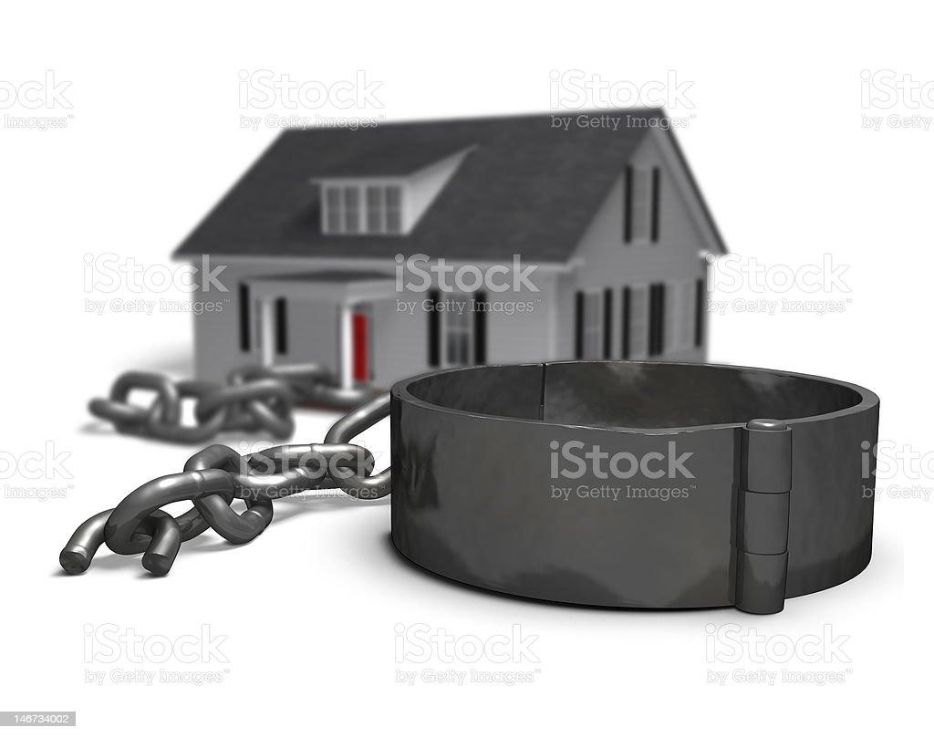 Mortgage Freedom stock photo