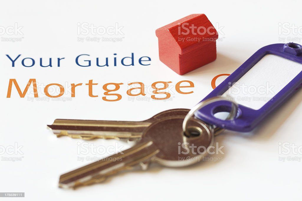 Mortgage guide royalty-free stock photo