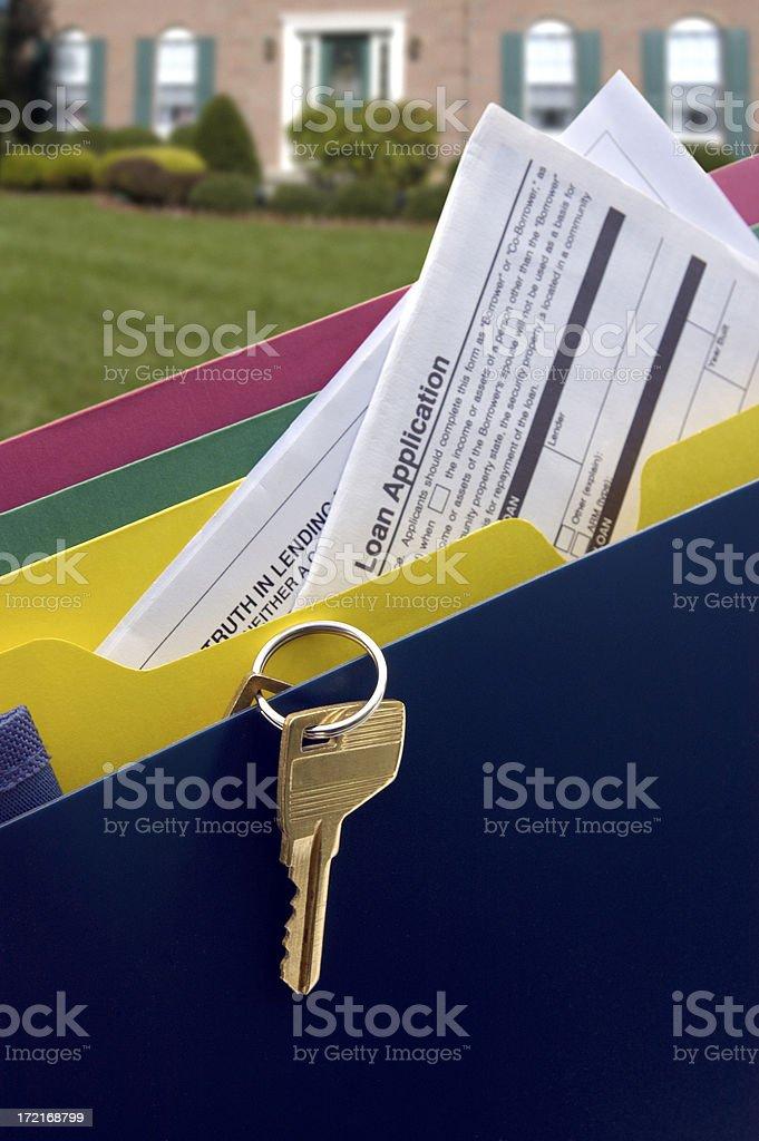 Mortgage Hopes stock photo