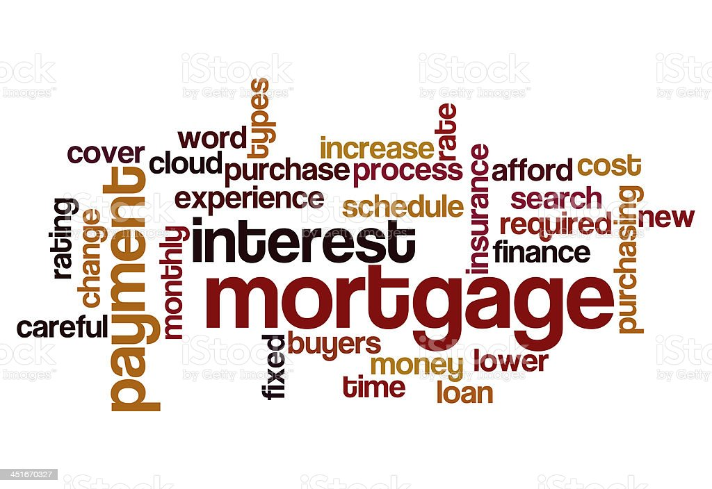 mortgage interest payment concept background royalty-free stock photo