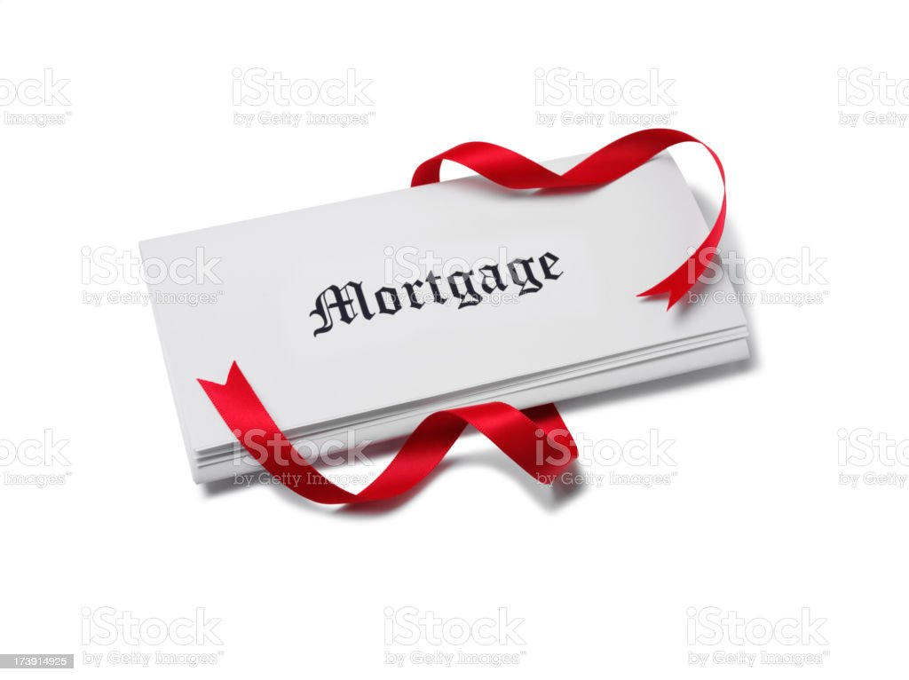 Mortgage Papers royalty-free stock photo