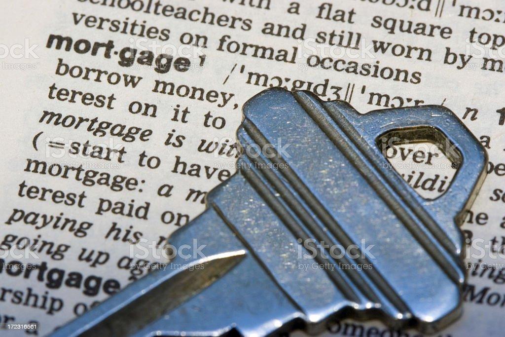Mortgage royalty-free stock photo