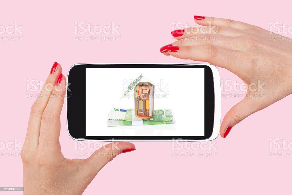 Mortgage. stock photo