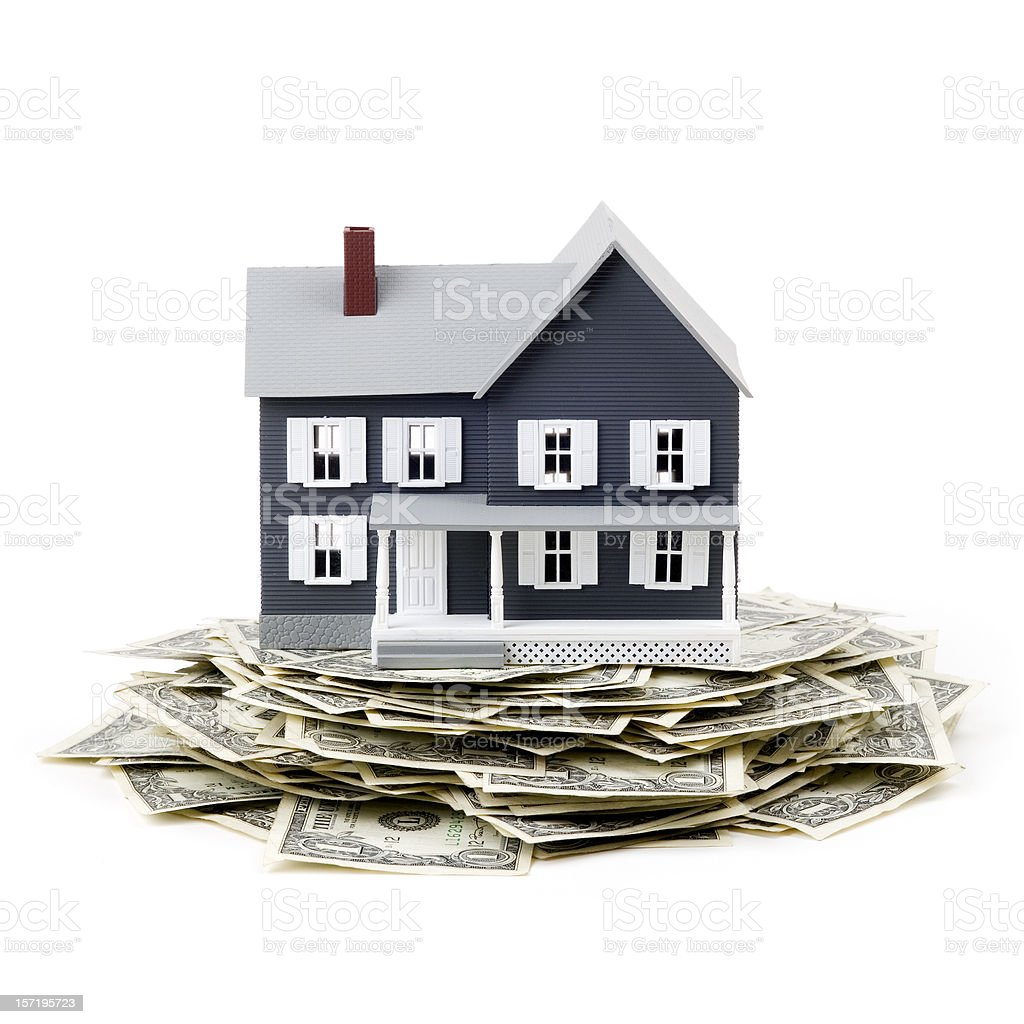 Mortgage planning royalty-free stock photo