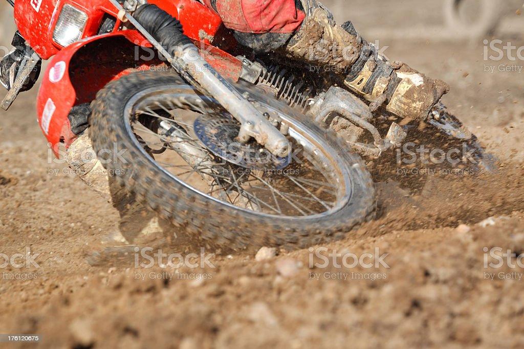 Mortorcross racing stock photo