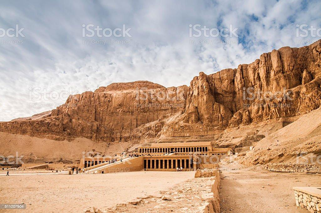 Mortuary Temple Of Hatshepsut stock photo