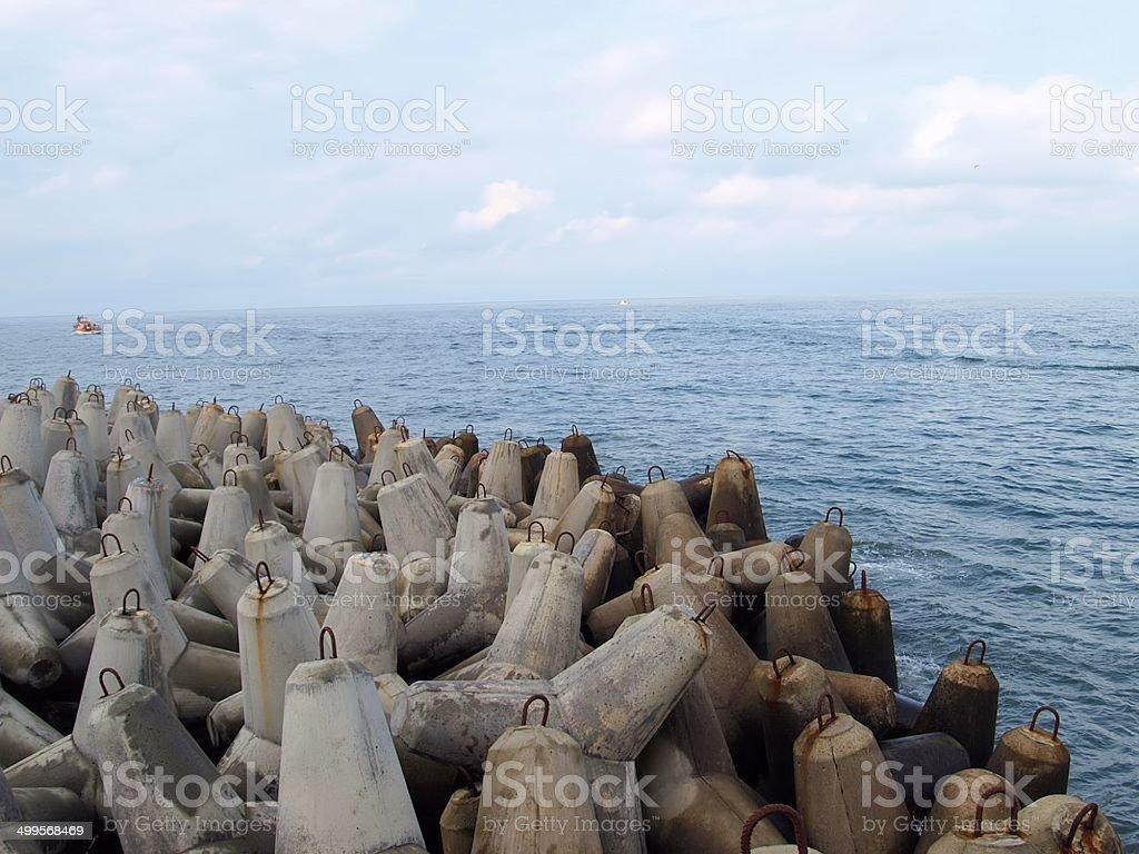 Morze royalty-free stock photo