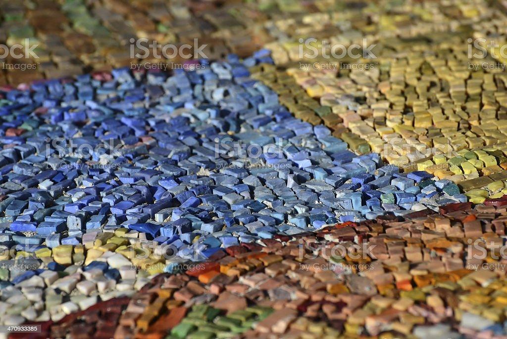 Mosaic abstract royalty-free stock photo