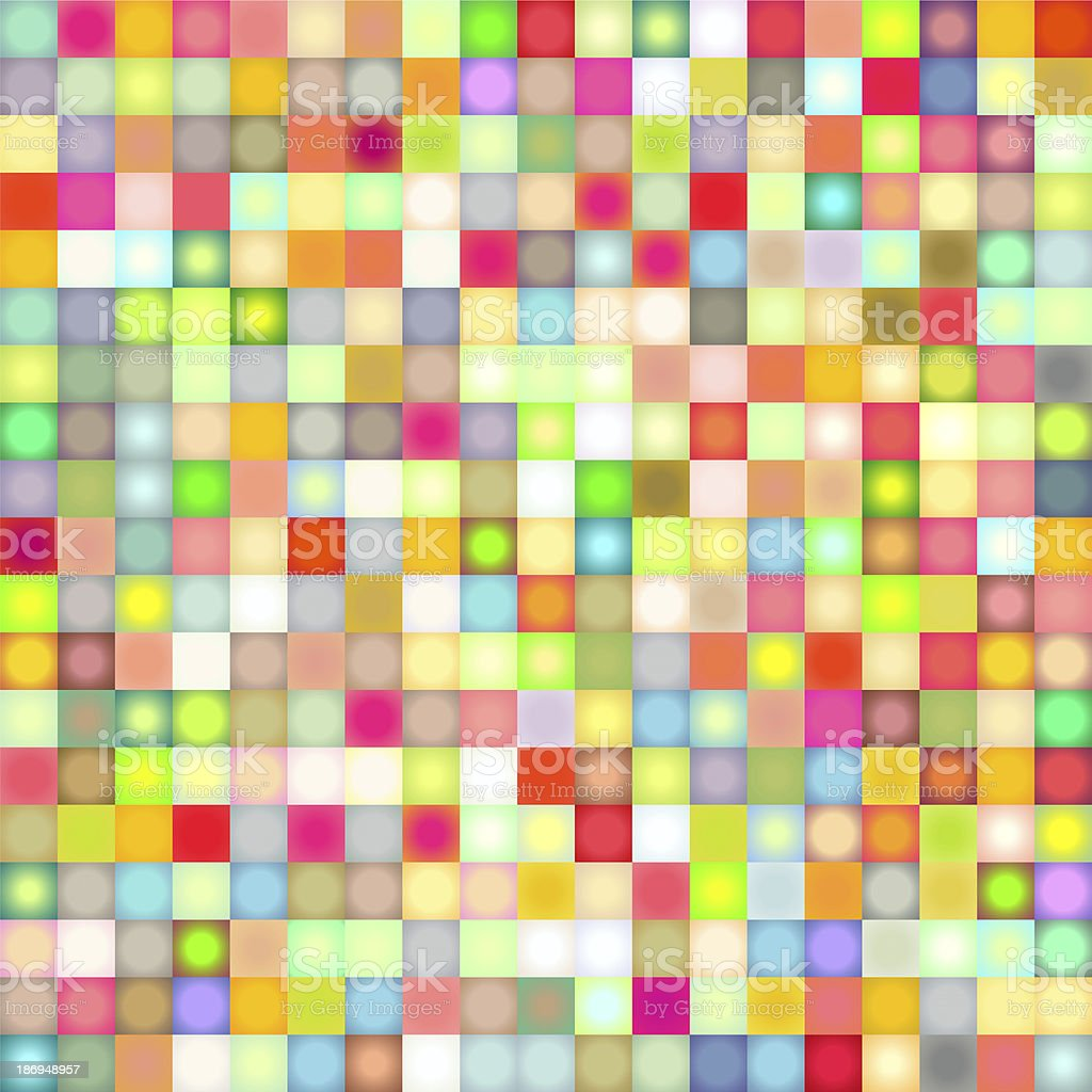 mosaic backdrop in rainbow color royalty-free stock photo