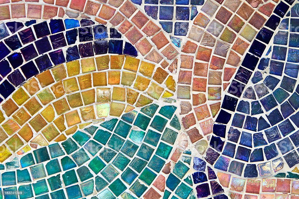 Mosaic Background stock photo