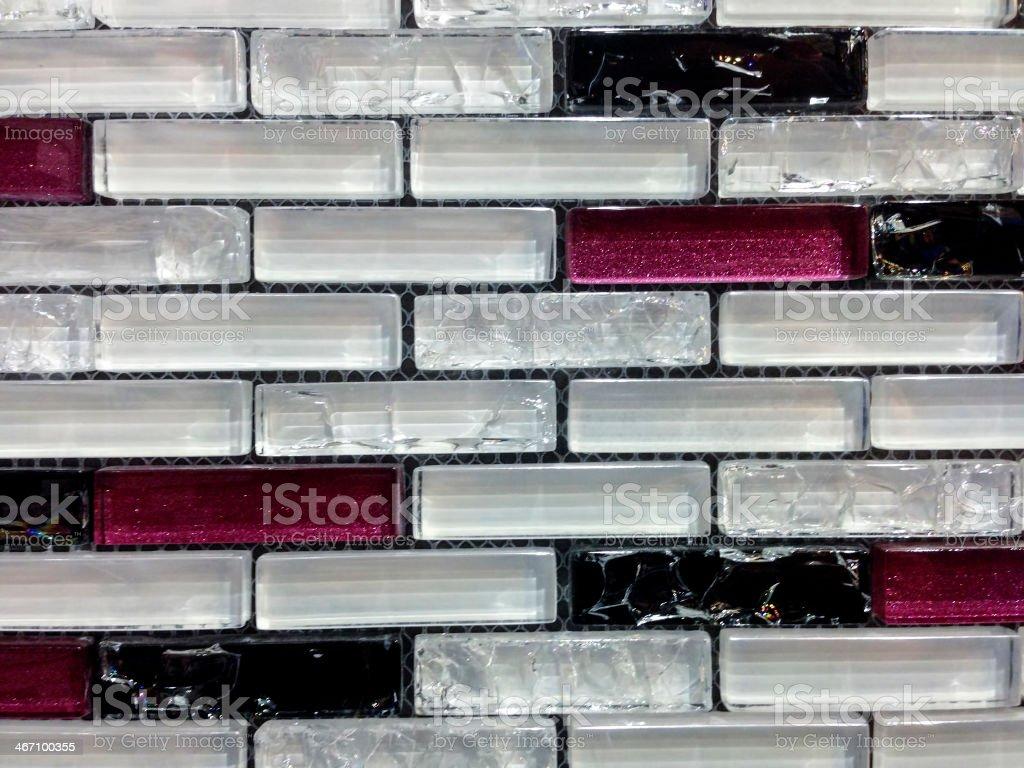 Mosaic background stock photo