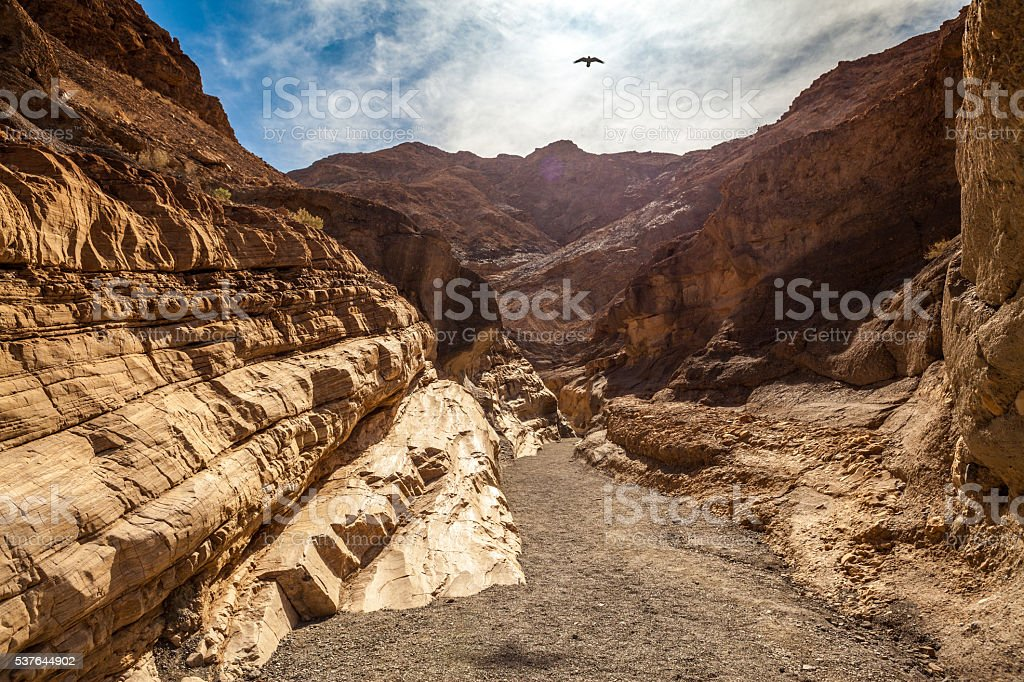 Mosaic Canyon, Death Valley National Park stock photo