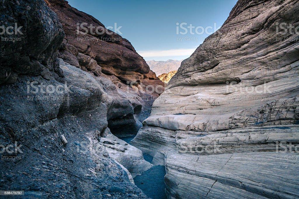 Mosaic Canyon, Death Valley National Park royalty-free stock photo