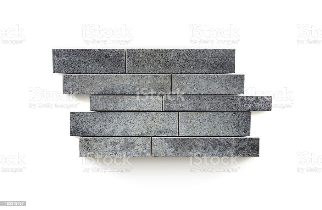 Mosaic ceramic tile royalty-free stock photo