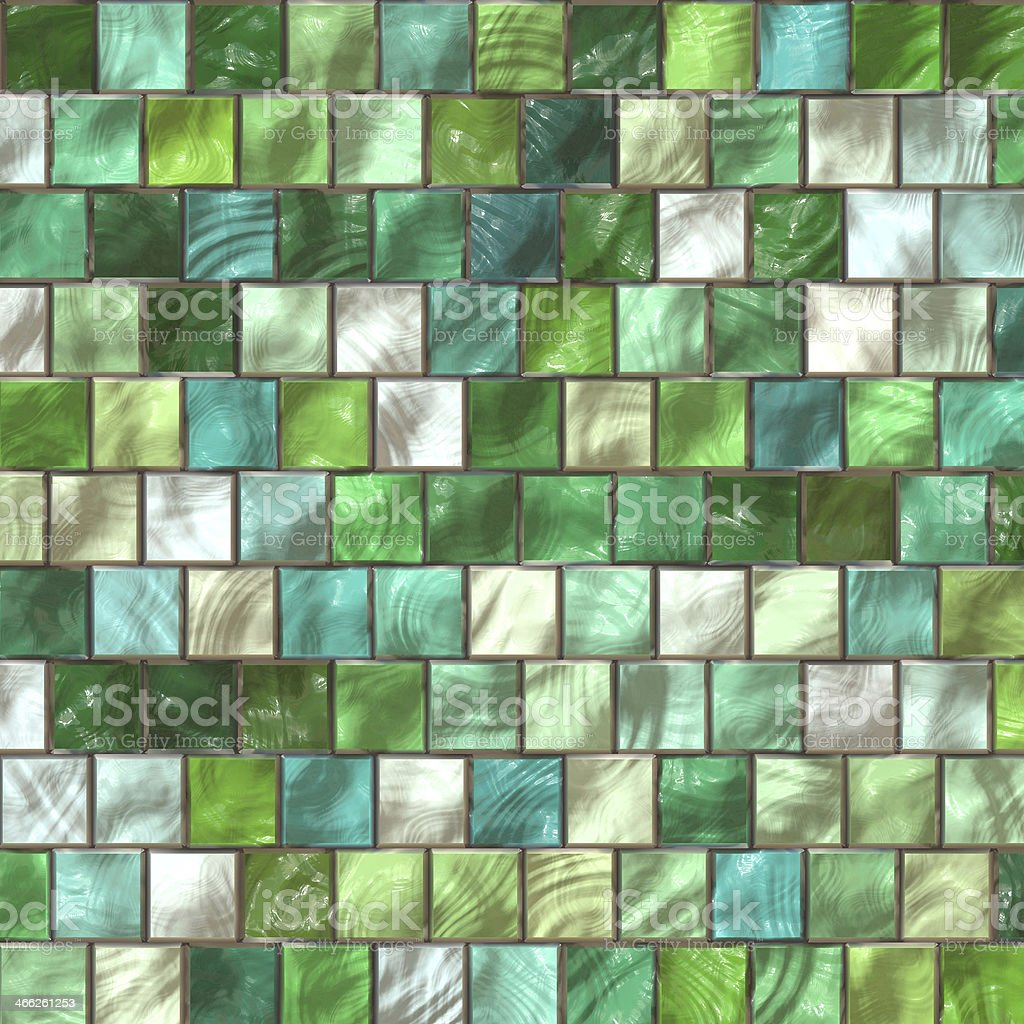 mosaic in the bathroom stock photo