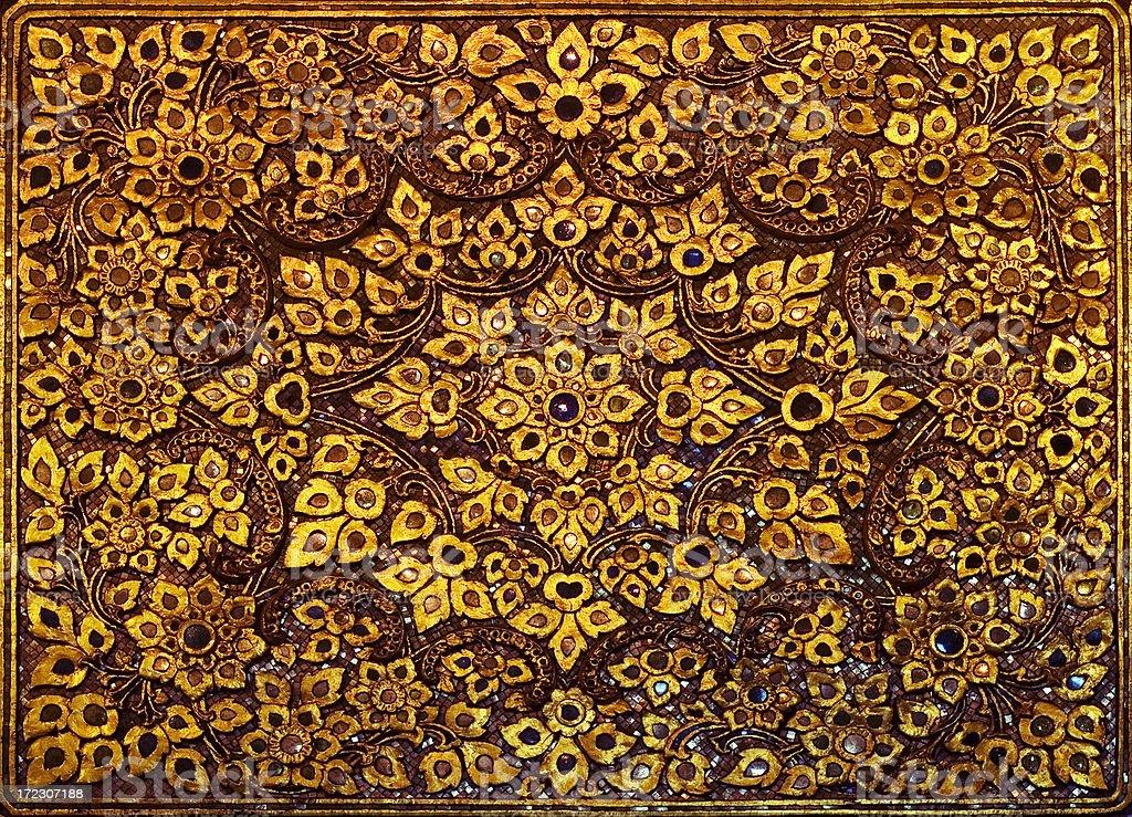 Mosaic in Wat Poh royalty-free stock photo