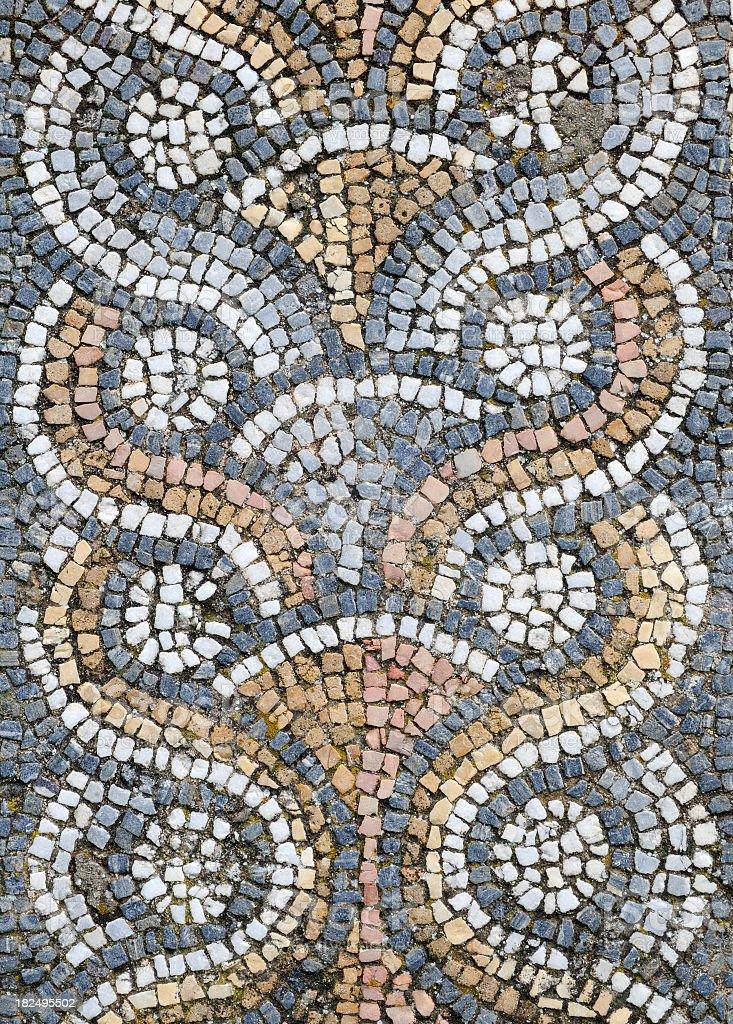 Mosaic of Aphrodisias royalty-free stock photo