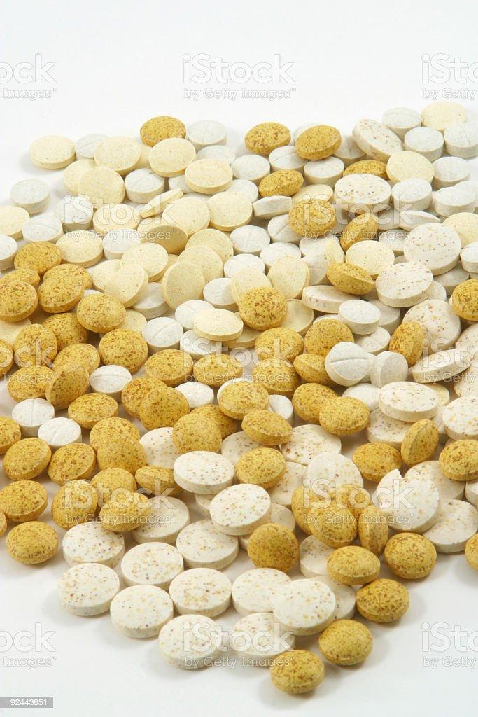 Mosaic of Pills 3 stock photo