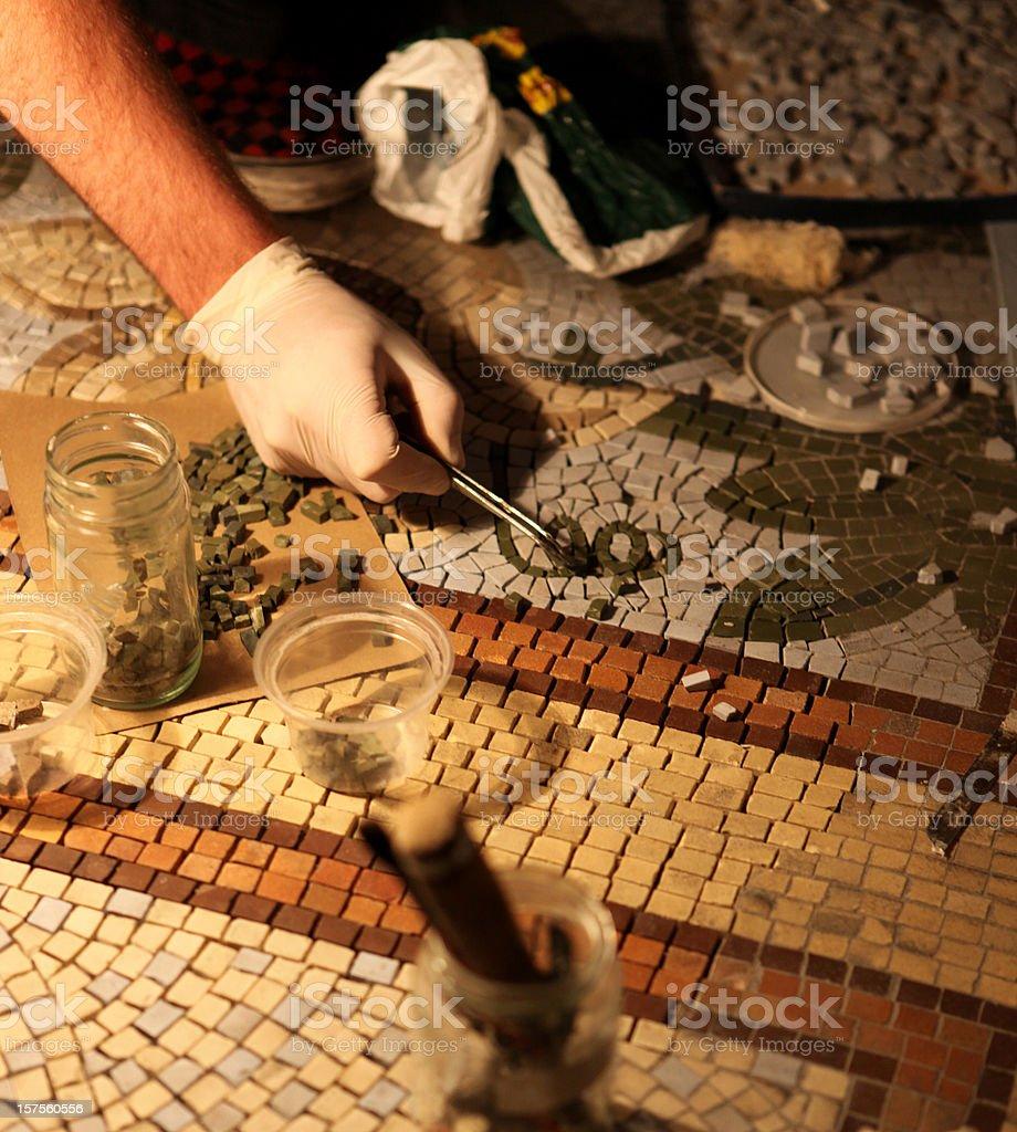 Mosaic stock photo