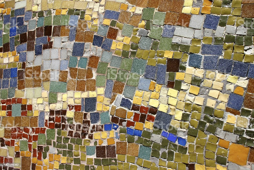 Mosaic royalty-free stock photo