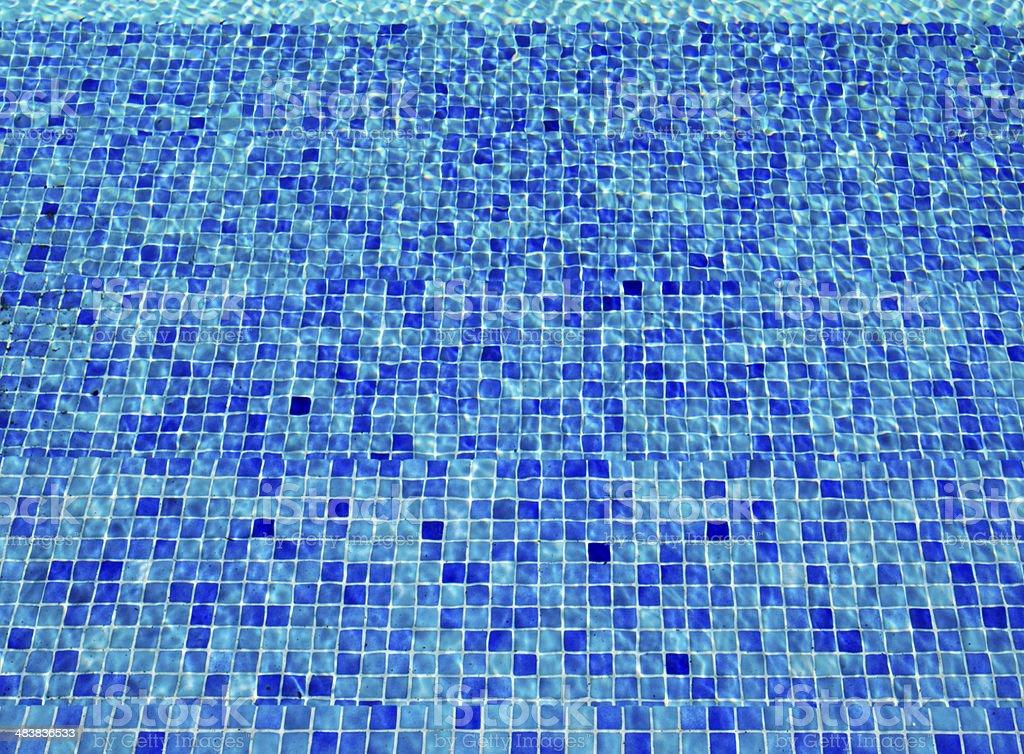 Mosaic Pool royalty-free stock photo