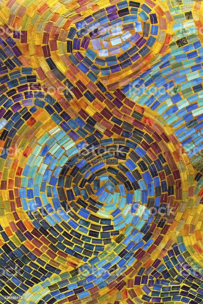 Mosaic Quilt stock photo