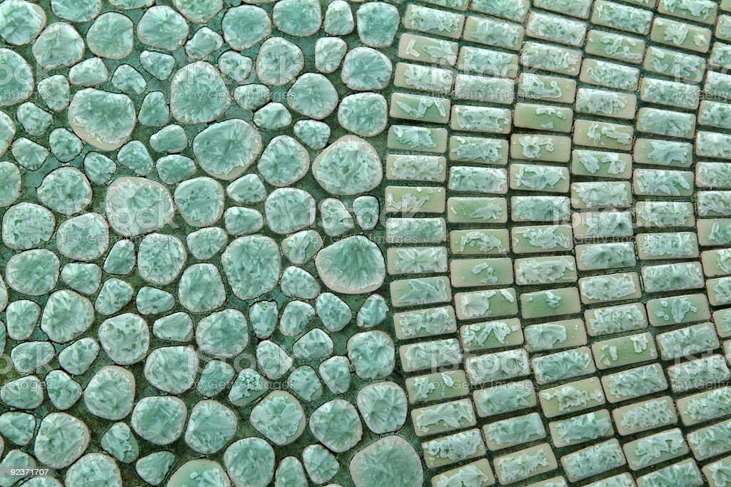 Mosaic table top royalty-free stock photo
