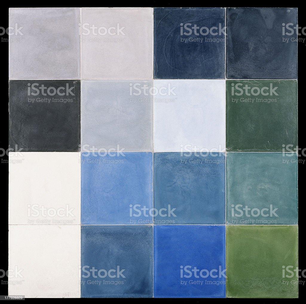 mosaic tile background royalty-free stock photo