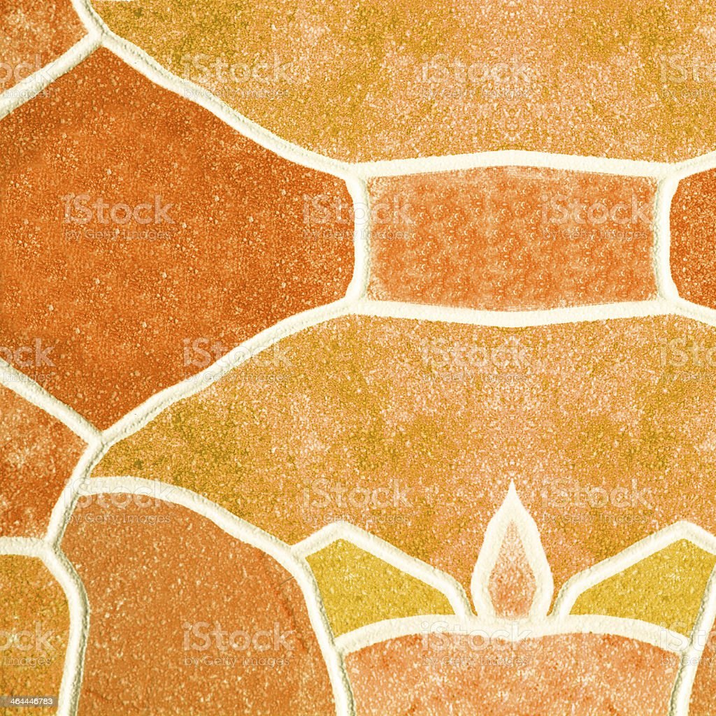 Mosaic Tile Background royalty-free stock photo