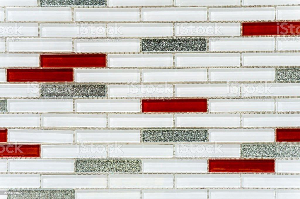 Mosaic Tile background stock photo